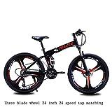 Mdsfe 27 vélo de Montagne Pliable vélo Tout Terrain vélo électrique vélo électrique vélo électrique électrique - 24, Autre, 30
