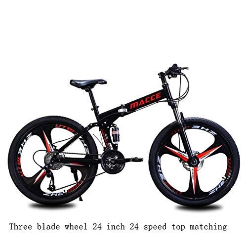 Mdsfe 27 Bicicleta de montaña Plegable Bicicleta Bicicleta Todoterreno Bicicleta eléctrica Bicicleta eléctrica Bicicleta eléctrica eléctrica - 24, Otro, 30