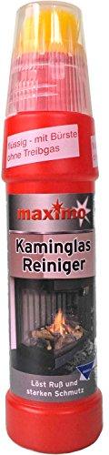 Kaminscheibenreiniger Maximo | Power Activ-Gel gegen hartnäckigste Verschmutzungen wie Ruß und Eingebranntes | Hochergiebig mit integrierter Bürste (01)