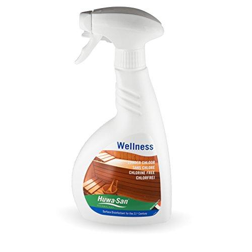 Huwa-San Wellness Sauna Desinfektionsmittel ohne Chlor (500ml, für alle Saunen)