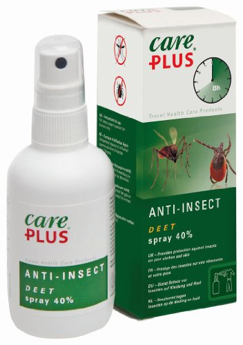 Care-Plus Anti-Insectes DEET 40% en Spray 100 ML
