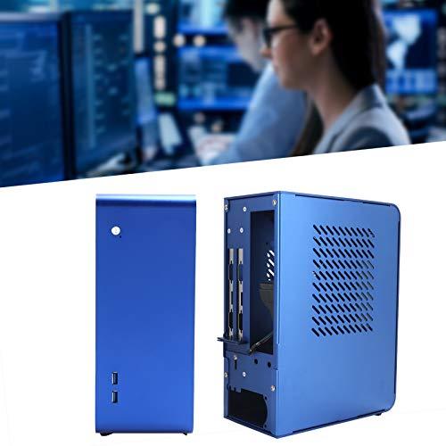 Snufeve6 Mini Estuche, Estuche para computadora HTPC Estuche para computadora de Escritorio Cine en casa para computadoras de Sala de Estar/máquinas de Publicidad para computadoras de Hotel /