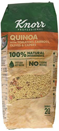 Knorr Súper Ensalada de Quinoa deshidratada con tomate, zanahoria, olivas y alcaparras - bolsa de 548 g