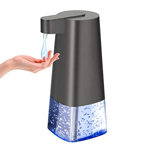 Automatic Soap Dispenser Battery Powered Hand Sanitizer Dispenser Soap Dispenser Touchless Liquid Dish Soap Dispenser for Hotel, Offices, Schools, Kitchen, Bath