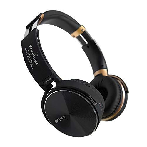 Fixealo Audifonos Sony AZ 008 Extra Bass Inalambricos Bluetooth (Negro)