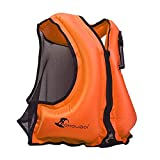 Best Adult Snorkeling Vests - OMOUBOI Inflatable Snorkel Vest Kayak Inflatable Buoyancy Vest Review