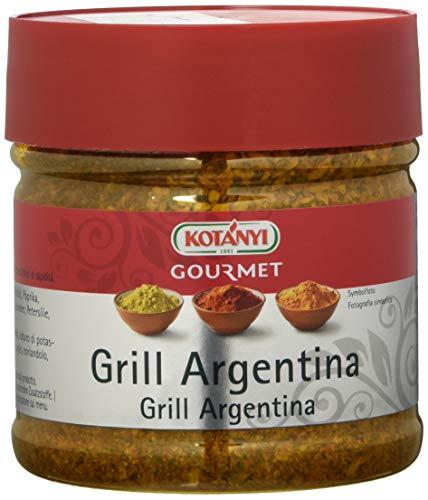 Kotanyi Gourmet Grill-Argentina Gewürzzubereitung | mit Paprika, Pfeffer, Koriander und mehr, fruchtig-pikant, 400 ml, 747014