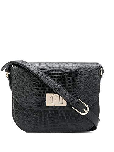 FURLA Luxury Fashion Donna 1065990 Nero Borsa A Spalla   Primavera...