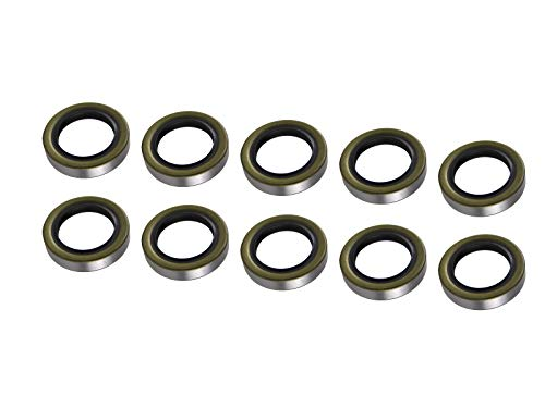 Lippert 333961 RV and Trailer Axle Grease Seal 3500LB 1.719' ID 2.565' OD (10 pack)