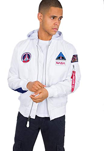 Alpha Industries MA-1 TT Hood NASA bomber jas