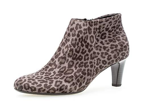Gabor Damen Stiefelette 35.850, Frauen Ankle Boots,Stiefel,Halbstiefel,Bootie,knöchelhoch,Reißverschluss,anthrazit,40 EU / 6.5 UK