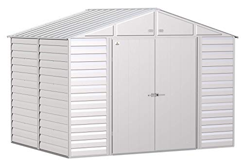 Arrow Shed Select 10' x 8' Outdoor Lockable Steel Storage Shed...