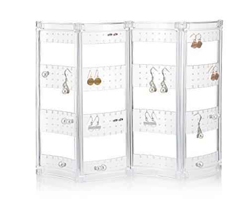Ohrring Halter und hält, Jewelry Organizer–Ohrring Organizer bis 140Paar Ohrringe