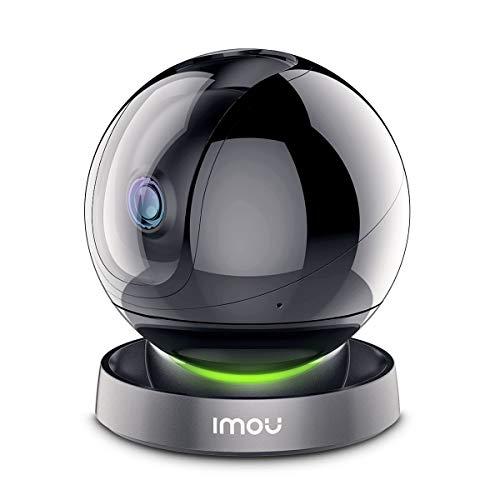 Imou Cámara de Vigilancia WiFi Interior 1080P, Cámara IP WiFi 1080P, Cámara Domo PTZ, Sirena de Seguridad, Detección de Sonidos Extraños, Modo de Privacidad, Audio Bidireccional y Visión Nocturna