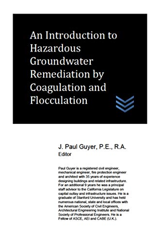 An Introduction to Hazardous Groundwater Remediation by Coagulation and Flocculation