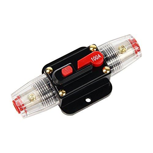 Sedeta Holder 60A Para Veh/ículo En L/ínea amplificador de potencia chapado en oro