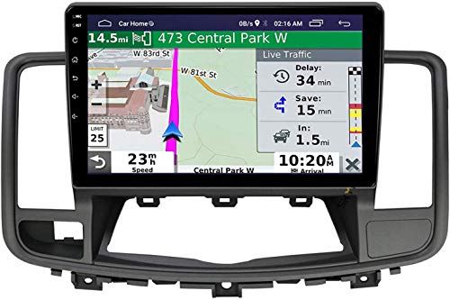LINGJIE GPS-Navigation 10-Zoll-Touch-Screen-MP5 für Nissan Altima TEANA 2008-2012 Android 10.0 Auto-Stereo Doppel-DIN-Head Unit Multimedia-Player-Radio-Video-Empfänger,8core 4g WiFi 3+32