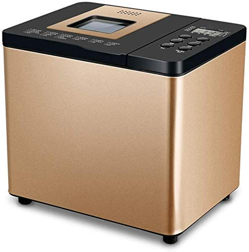 Máquina automática para hacer pan,para el hogar,automática para hacer pan,máquina para hacer pan con gluten,máquina de pan digital para hornear fresco con 21 funciones preestablecidas,temporizador de