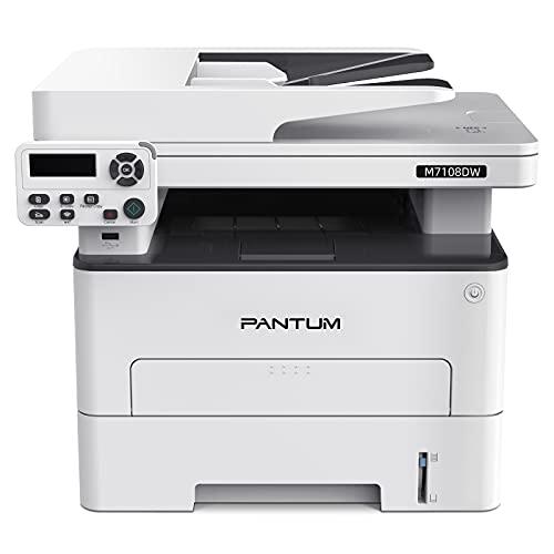 Multifunzione Stampante Laser Copia/Stampa/Scansione Bianco/Nero Wireless con Stampa fronte/retro Automatica Pantum M7108DW