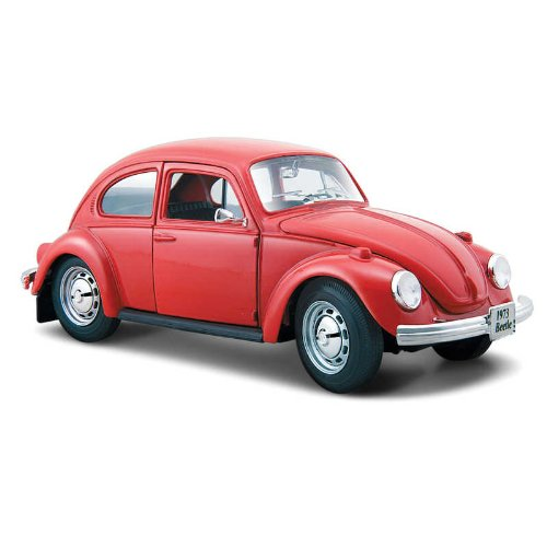 Maisto 1:24 Scale Volkswagen Beetle Diecast Vehicle, color puede variar