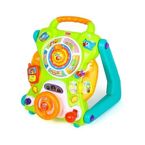 Lihgfw Table d'apprentissage pour bébés multifonctionnels, jouets de poussettes pour les tout-petits, enfants de plus de 9 mois, compétences motrices fines pour les tout-petits
