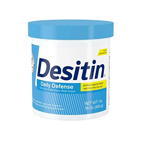 DESITIN Rapid Relief Diaper Rash Cream 16 oz (Pack of 2)