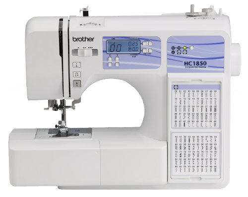 Brother Sewing Quilting Computerized Machine, HC1850