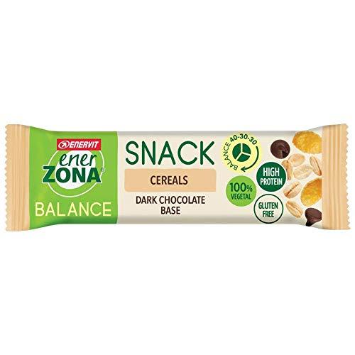 Enervit Enerzona Snack Balance Gusto Cereals Scatola Da 30 Barrette