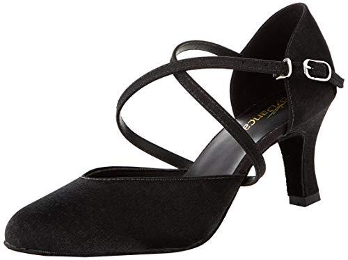 So Danca Damen Bl156 Standard- & Latintanzschuhe, Schwarz (Black Black), 38.5 EU