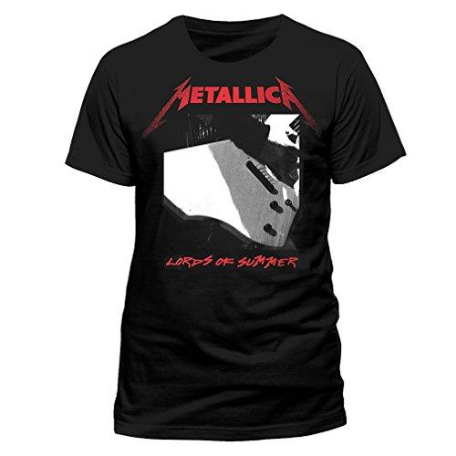 Band Merchandise - T-Shirt - Homme Noir Noir - Noir - Large