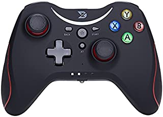 ZD-T[2.4G] pro Wireless Gaming Controller for Steam,Nintendo Switch,PC(Win7-Win10),Android Tablet,TV Box (Red)