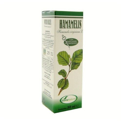 Soria Natural Extracto Hammamelis Glicolico - 50 mililitros