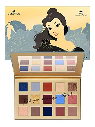Essence Disney PRINCESS Eyeshadow Palette Belle Nr. 01 Don't judge a book by its cover Inhalt: 18g Lidschattenpalette