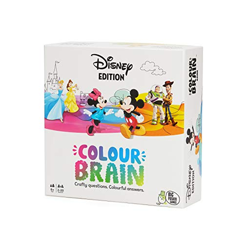 Disney Colourbrain: Brilliantly Colourful Board Game for Kids | Best Disney Games