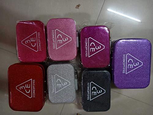 Sac à cosmétiques Sac à cosmétiques capacité Sac de Rangement Portable boîte à cosmétiques Petit Sac carré Sac de Voyage boîte de Rangement 22 * 25 * 12 CM Couleur mélangée Grand
