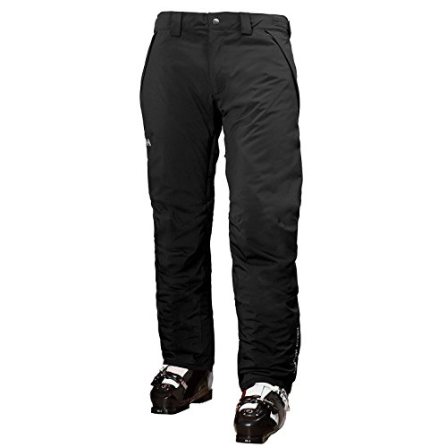 Helly Hansen Men's Velocity Insulated Waterproof Ski Pant, Black, Large