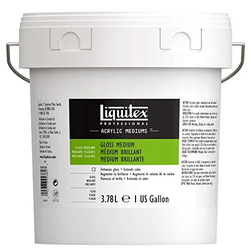 Liquitex Gloss fluido acrilico medio & vernice-1 gallone