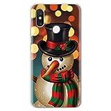 LIUSHENQING phone case For Merry Christmas Snowman Soft TPU