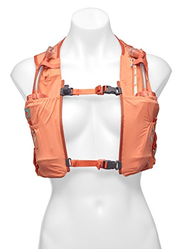 Nathan NS4537 Vaporhowe Hydaration Pack Running Vest with 1.5L Bladder, Fusion Coral, Large