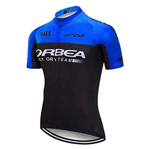 Maillot Ciclismo Verano Manga Corta Camiseta Hombre de Ciclistas Ropa Enduro MTB