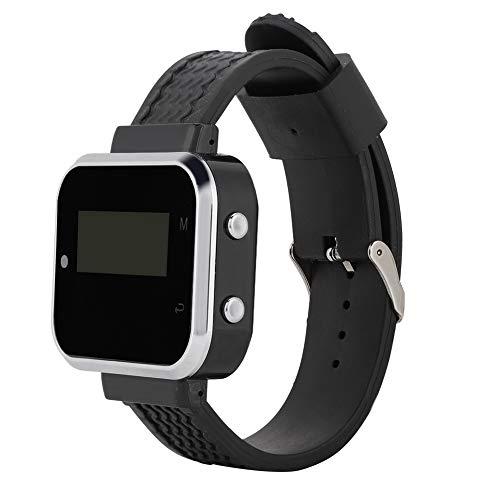 Buscapersonas Inalámbrico Ctw05 + Ctt20 Wireless Pager System Watch Watch Mobile Reception Host + 10pcs Pagers para Restaurante Invitado Paging Coaster Queue Llamar