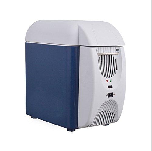 Q-HL Auto Elektrische Kühlschrank Kühlbox, 7.5L Auto Kühlschrank, tragbare Mini Kühlschrank, AC und DC Hotspot System, Thermostat.