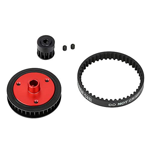 Belt Pulley Combination Package Rubber Belts Band Plastic Pulley Wheel Toy Parts