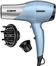 Conair 1600 Watt Fine Hair Dryer with Ceramic Plus Technology for Fine, Delicate Hair