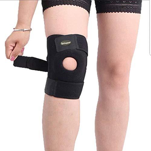 Spinegear Offene Kniebandage, Kniebandage, Kniescheibenstütze, Neopren für Sport Gelenkschmerzen bei Arthritis für Männer und Frauen