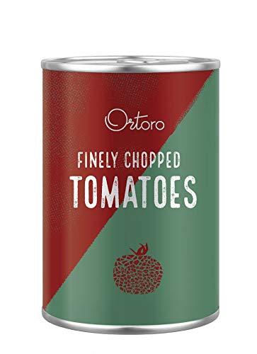 Ortoro - Polpa Fine Fein gehackte Tomaten, 400g (12er-Pack)