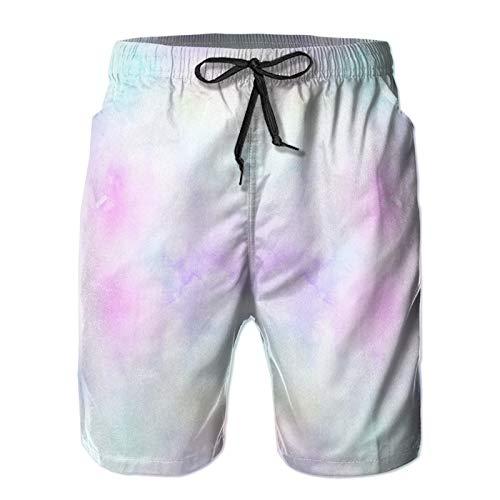 Hombres Verano Secado rápido Pantalones Cortos Playa patrón sin Costuras Boho Trajes de baño Correr Surf Deportes-3XL