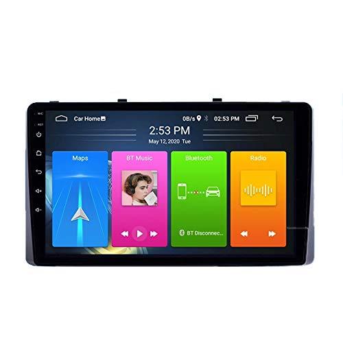 MGYQ 2 DIN Radio Coche, con 9 Pulgadas Pantalla Táctil, Autoradio con BT/GPS/FM/USB, Apoyo De Control del Volante, Enlace De Espejo, para KIA Carnival YP Sedona 2014-2020,Quad Core,4G WiFi 1+32