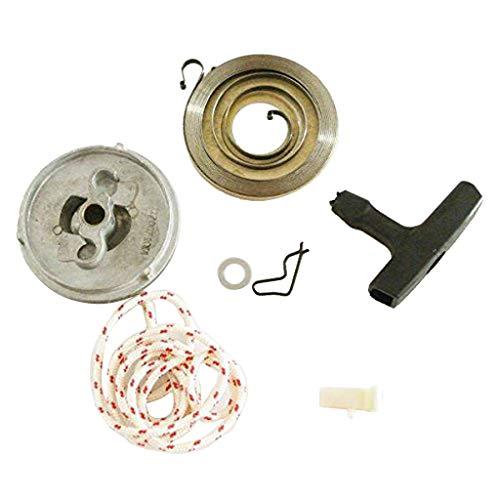 Homyl Starter Riemenscheibe Startergriff Feder Seil Set für STIHL 038 MS380 Rasenmäher