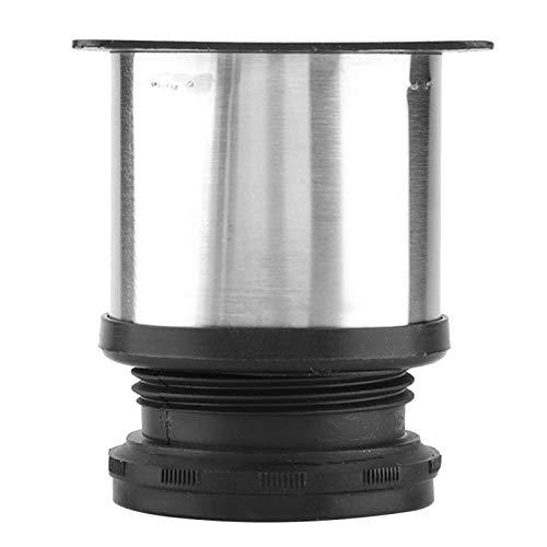 Möbelbeinschrank Beinhöhe bis 15mm Edelstahl mit 4 Schrauben für Möbel befestigt(50 * 60MM)